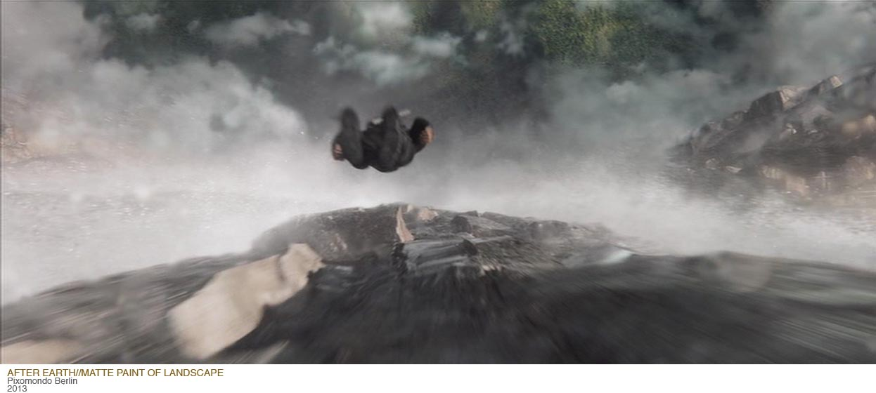 After Earth Matte Painting