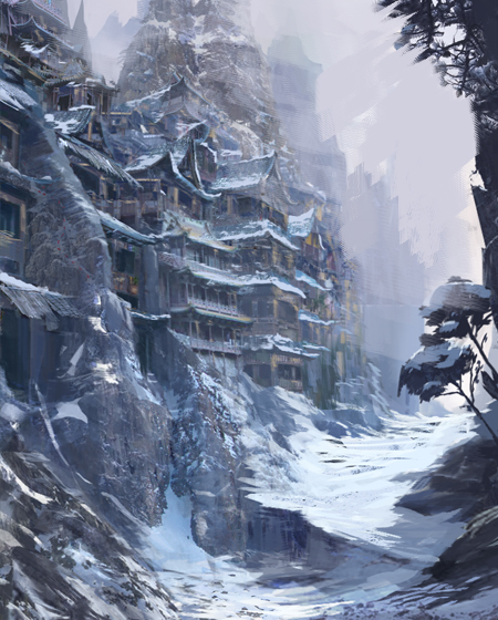conceptart_mountains_village