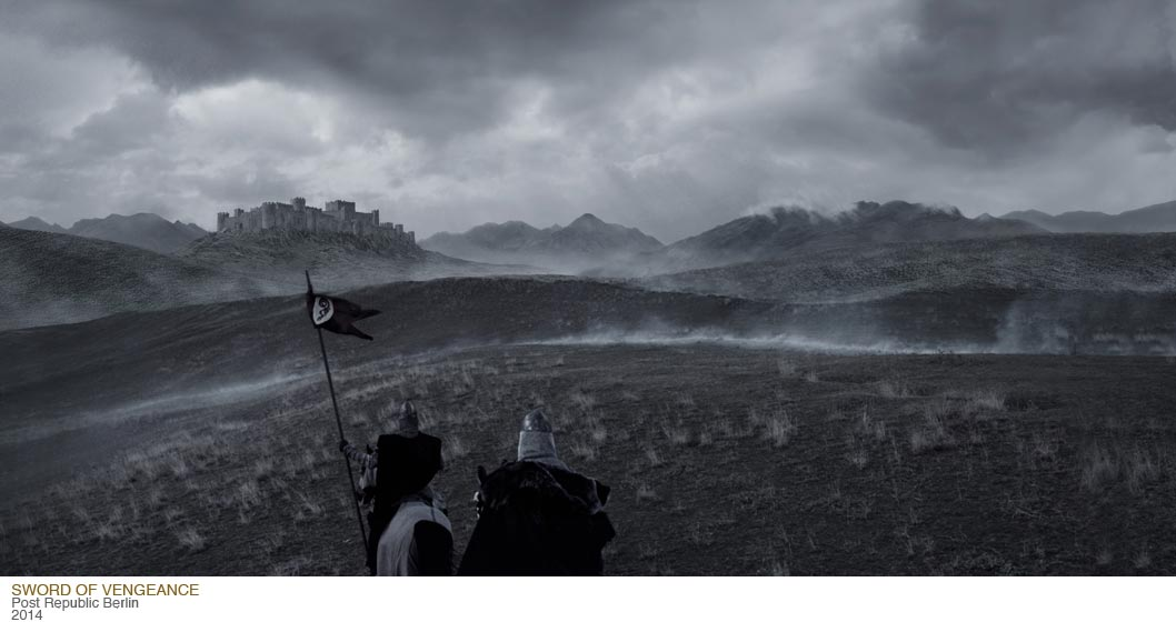 Sword of Vengeance Matte Painting Gordana Ristic