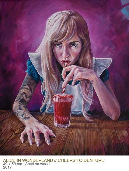 Alice in Wonderland by Gordana Ristic